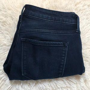 Old Navy Rockstar Super Skinny Built-In Warm Jeans